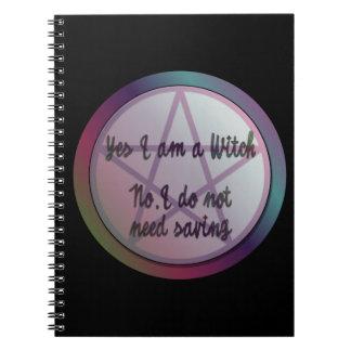 Yes私は魔法使いです。 私は救う必要はありません! ノートブック