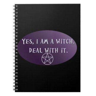 Yes私は魔法使い、それの取り引きです! ノートブック