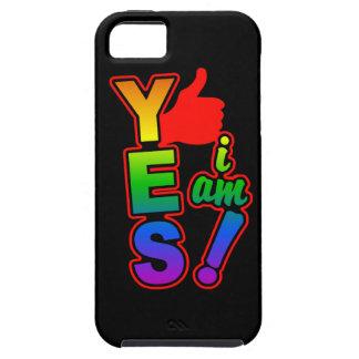 YES私はiPhone 5の穹窖です iPhone SE/5/5s ケース