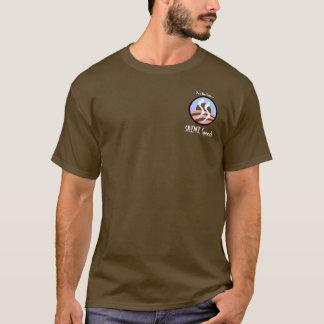 Yes私達はできます:  沈黙のスピーチ… tシャツ
