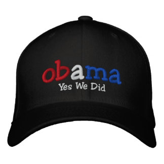 Yes私達はバラック・オバマによって刺繍された帽子をしました 刺繍入りキャップ
