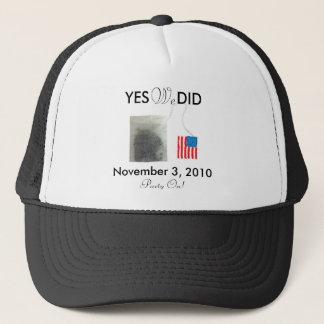 Yes私達は2010年11月をしました キャップ