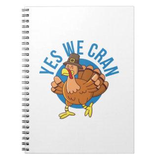 Yes私達Cran ノートブック