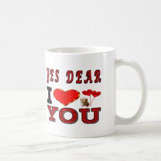 Yes親愛なIの愛 コーヒーマグカップ