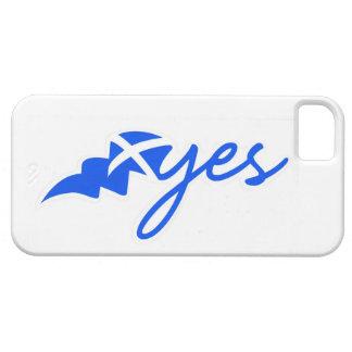 Yes -スコットランド、hアルバBratach naの旗 iPhone SE/5/5s ケース