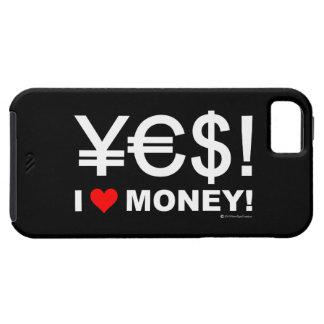 Yes! 私はお金を愛します! iPhone SE/5/5s ケース