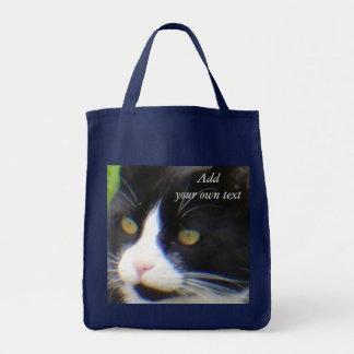 Yes、私はかわいらしい油絵のブックバッグです トートバッグ