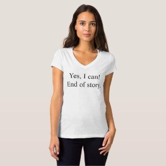 Yes、私はできます! Tシャツ