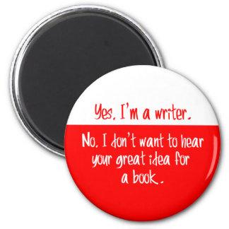Yes、私は作家です マグネット