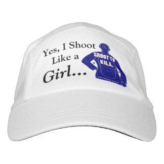 Yes、私は女の子のように…撃ちます ヘッドスウェットハット