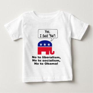 Yes、私は断りました! ベビーTシャツ