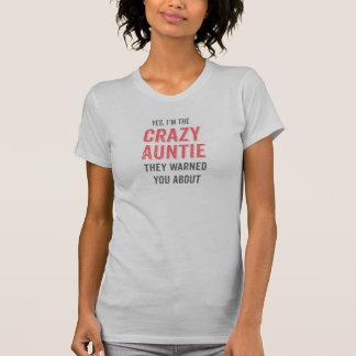 Yes、私は熱狂するな伯母さんです Tシャツ