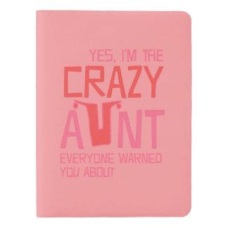 Yes、私は熱狂するな叔母さんです エクストララージMoleskineノートブック