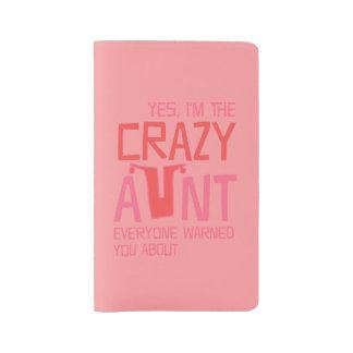Yes、私は熱狂するな叔母さんです ラージMoleskineノートブック