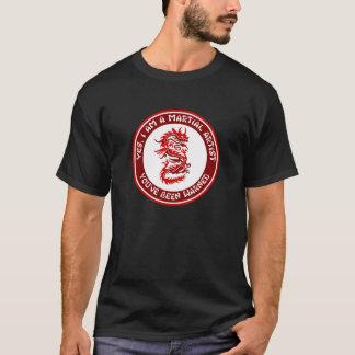 Yes、私は軍芸術家です Tシャツ
