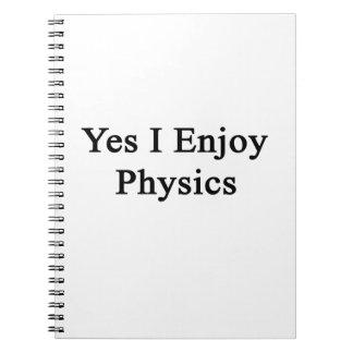 Yes Iの楽しむな物理学 ノートブック