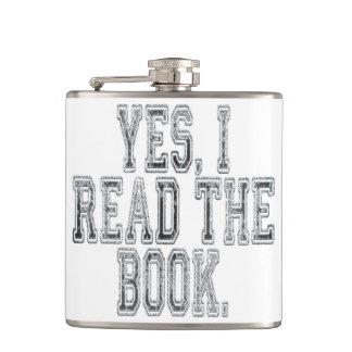 Yes Iは本の灰色を読みました フラスク
