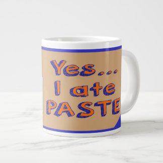 Yes I ate Paste Jumbo Mug School Paste ジャンボコーヒーマグカップ