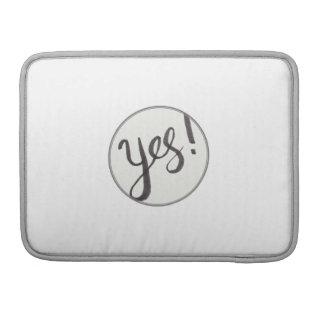 YES! MacBookのプロ13インチの袖 MacBook Proスリーブ