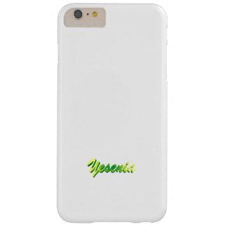 Yeseniaの無地ので白いiPhone 6のプラスの場合 Barely There iPhone 6 Plus ケース
