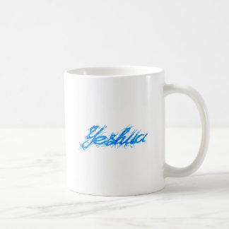 Yeshua Elfontのブルー コーヒーマグカップ