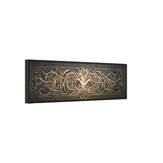 Yggdrasil -人生のキャンバスプリントの壁の芸術の木 キャンバスプリント