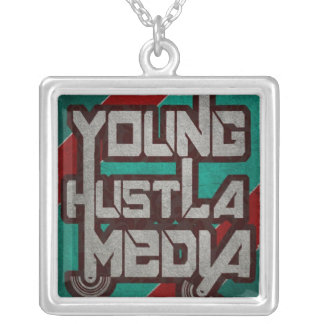 YHMの銀製のネックレス シルバープレートネックレス