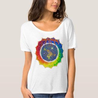 YHWHはEARTH~CanvasのだらしないTシャツを覆います Tシャツ