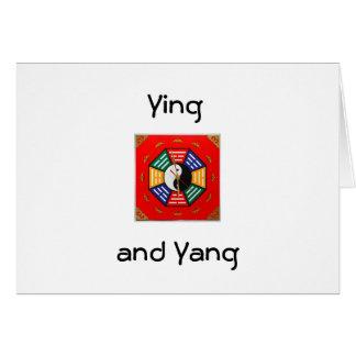 YINGおよびヤンのすべての行事の挨拶 カード
