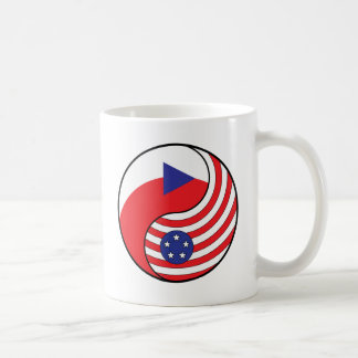 Yingヤンのチェコスロバキア共和国アメリカ コーヒーマグカップ