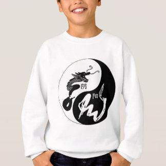 Yingヤンのドラゴン スウェットシャツ