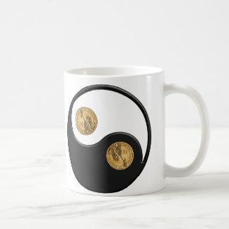 Yingヤンのドル コーヒーマグカップ