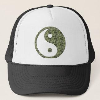 Yingヤンの緑の葉 キャップ