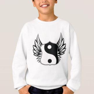 Yingヤンの翼 スウェットシャツ