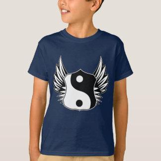 Yingヤンの翼 Tシャツ