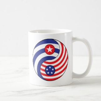 Yingヤンキューバアメリカ コーヒーマグカップ