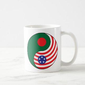 Yingヤンバングラデシュアメリカ コーヒーマグカップ