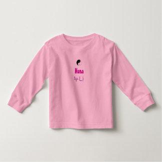 yingyangのデザインのNunaのTシャツ トドラーTシャツ