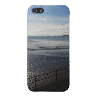 YinYangの夏- iPhone 5/5Sの無光沢の場合Sunpyx iPhone SE/5/5sケース