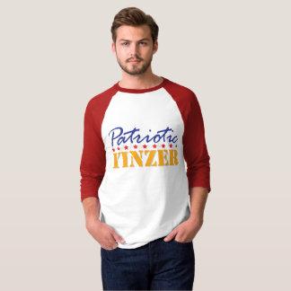 Yinzerの愛国心が強いデザイン Tシャツ
