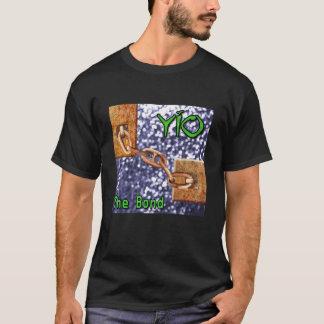 YIOとらわれの歌カバー芸術 Tシャツ