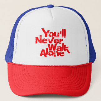 YNWA -決して単独で歩きません キャップ