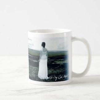 Yoの大豆Esa Mujer Taza コーヒーマグカップ