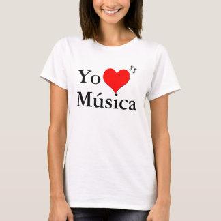 Yo Amo Musica Tシャツ