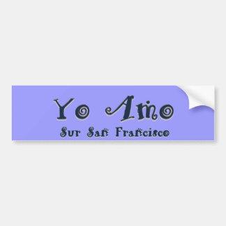 Yo Amo Surサンフランシスコ バンパーステッカー