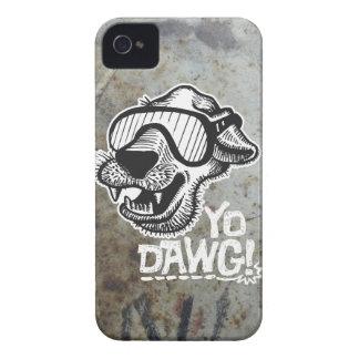 Yo Dawg! ブラックベリーのはっきりしたな箱3 Case-Mate iPhone 4 ケース