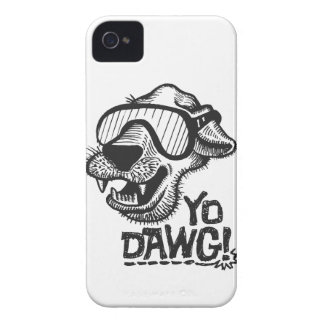 Yo Dawg! ブラックベリーのはっきりしたな箱 Case-Mate iPhone 4 ケース
