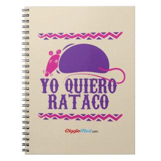 Yo Quiero Rataco ノートブック