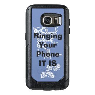 Yodaが付いている携帯電話カバーは話します オッターボックスSamsung Galaxy S7ケース