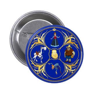 #YoEstrellaCervantes/www.estrellacervantes.es 5.7cm 丸型バッジ
